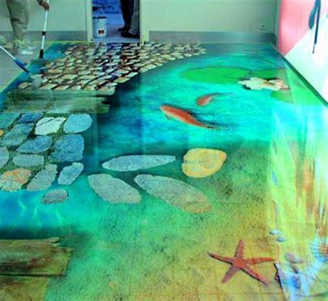 floors that look like water   Awesome Floor Tiles Design