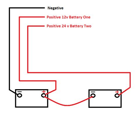 24 Volt Wiring by Wiring 2 Batteries For 24v Trolling Motor Boats Motors