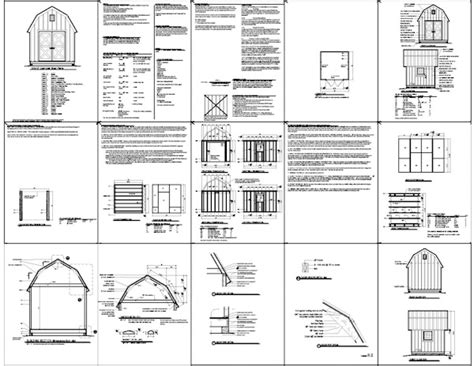 shed plans 10 x 10 free tool shed blueprints will leave