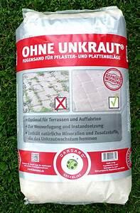 Pflaster Verfugen Gegen Unkraut : dansand steinmehl sylt fugen pflaster sand terrasse ohne ~ Michelbontemps.com Haus und Dekorationen