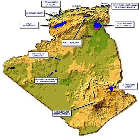 Carte Sat Algerie by Algerie Carte Et Image Satellite