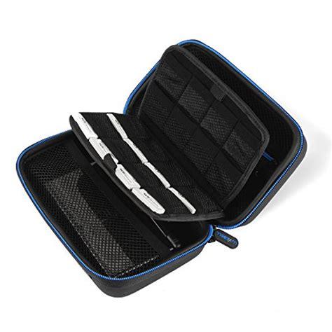 luxebell 3ds 3ds xl 201 tui housse pochette de voyage stockage protection portable pour