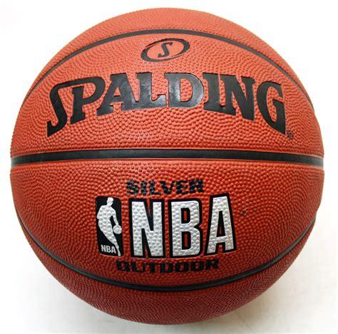 spalding silver nba outdoor basketball ball size