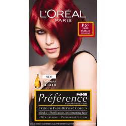 L'Oreal Preference Hair Color Red