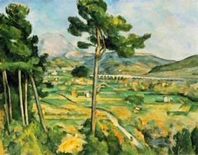 Paul Klee Artworks by Webmuseum C 233 Zanne Paul Mont Sainte Victoire