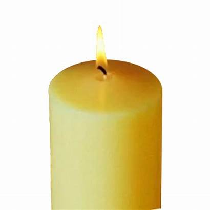 Candle Candles Transparent Church Burning Clipart Flame