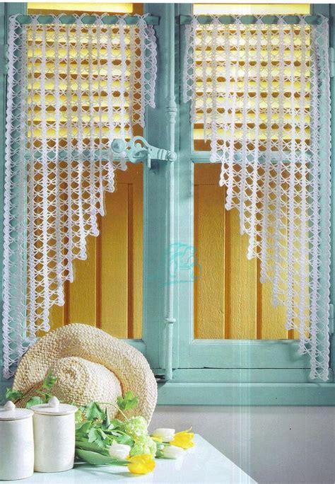 des rideaux au crochet crochet pinterest rideaux