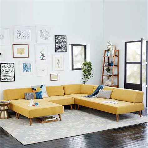 west elm tillary sofa retro tillary 174 6 sectional west elm