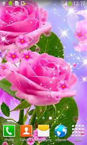 Glow Flower Live Wallpapers free APK android app - Android