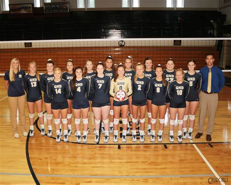 girls volleyball quincy notre dame