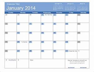 an easy to edit 2014 calendar template for excel With calendar template by vertex42 com