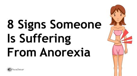 signs   suffering  anorexia