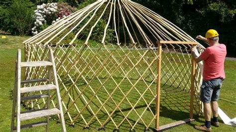 Build A Yurt From Scratch!