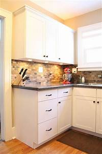 small kitchen remodel slate tile backsplash 1613