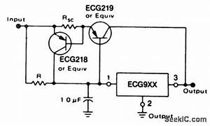 short circuit protected current boost regulator using the With short circuit power