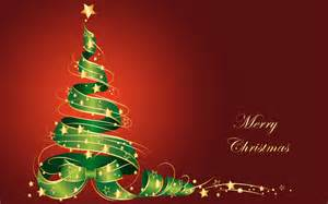 download merry christmas tree vector wallpaper in 1920x1200 resolution