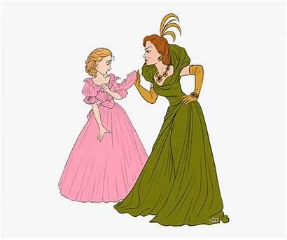 Cinderella Clip Action Disney Clipart Cliparts Clipartkey