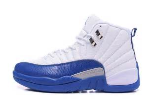 2016 Air Jordans 12 Retro White/French Blue Latest For Sale