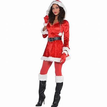 Santa Costume Adult Claus Mrs Costumes Sassy