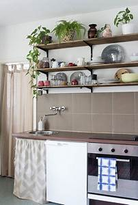 Deko Selbst Genäht : stauraum unter der arbeitsplatte so n hst du einen vorhang f r die k che arbeitsplatte ~ Whattoseeinmadrid.com Haus und Dekorationen