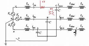 Circuit Diagram For A Single Line