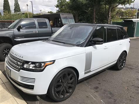 2017 Range Rover Hood And Mirrors Blackout And Matching