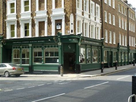 Chiswell Street Dining Rooms In Islington, London Lunch On