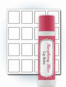 lip balm label template printable label templates With chapstick label size