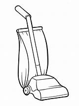 Vacuum Cleaner Coloring Pages Sketch Drawing Vacuums Printable Mycoloring Children Getdrawings Paintingvalley Template sketch template