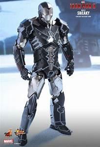Iron Man 3 - Mark XV Sneaky HOT TOYS - Machinegun