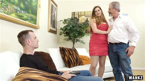 Chubby Blonde Hoe Allison Moore Cheats On Her Aged Husband