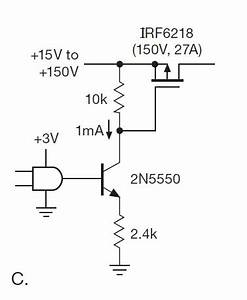 P-channel Mosfet As Power Switch