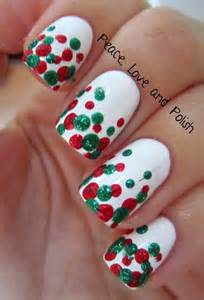 Gallery for gt simple christmas nail designs
