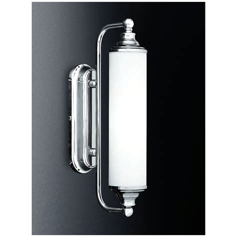 franklite wb157 363 chrome single light wall bracket with