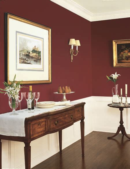 Wand Rot Streichen by Dunn Edwards Paints Paint Colors Wall Crimson