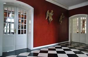 Wandgestaltung Wohnzimmer Erdtöne : dekorative gestaltung von wohnraum und wohnzimmer wandgestaltung berlin ~ Markanthonyermac.com Haus und Dekorationen