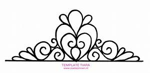 princess tiara pictures clipartsco With free printable tiara template