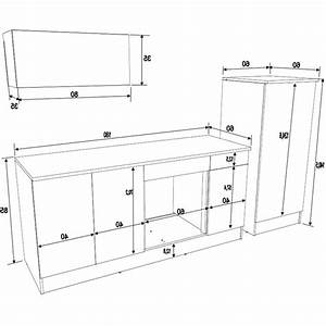 caisson cuisine sur mesure measure for pdf measurement With hauteur plan de travail cuisine ikea