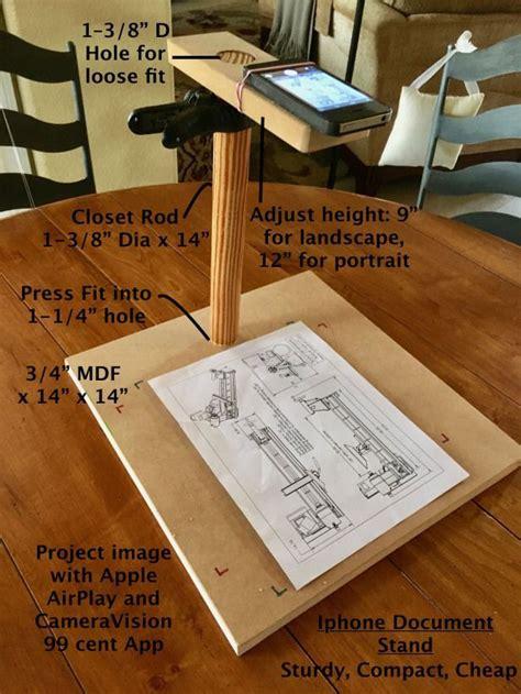 iphone document stand diy  scraps  sturdy