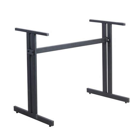 pied de table avec barre de renfort laterale en acier noir top prix pzn tt03 one mobilier
