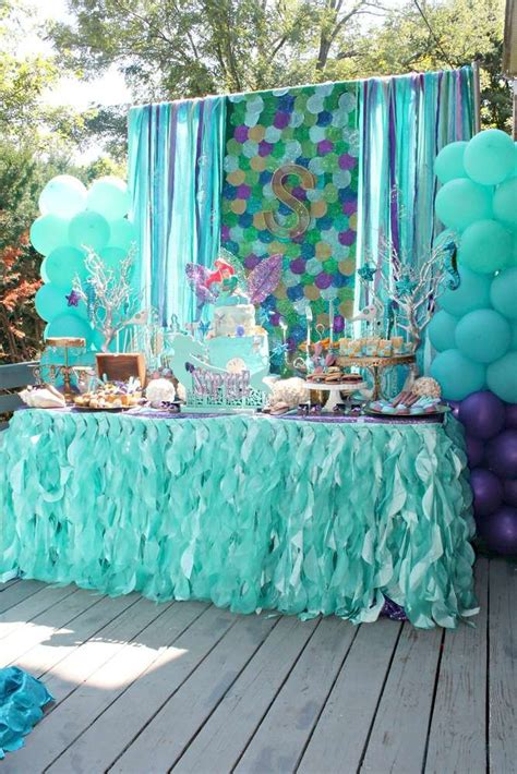 3904 Best Mermaid Party Images On Pinterest  Ideas Party