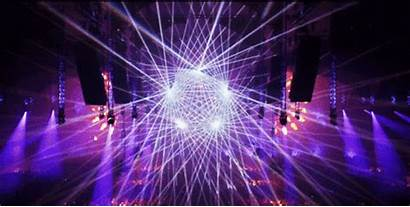 Edm Lighting Animated Nation Stage Concert Gifs