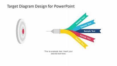 Target Powerpoint Template Diagram Templates Goals Goal
