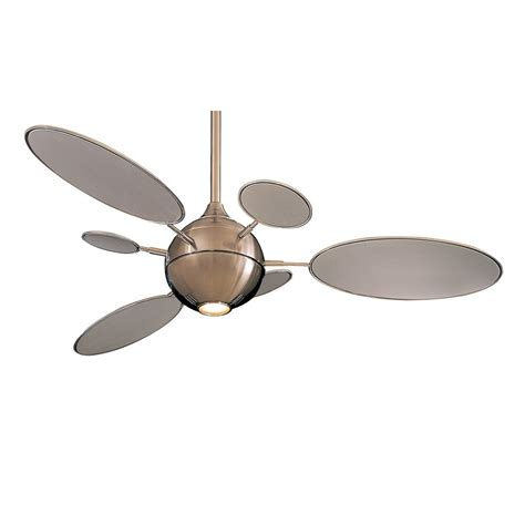 unique ceiling fans clearance cirque ceiling fan by minka aire fans f596 bn brushed