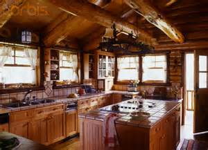 Log Cabin Kitchen Island Ideas by 61 Best Rustic Kitchens Images On Rustic