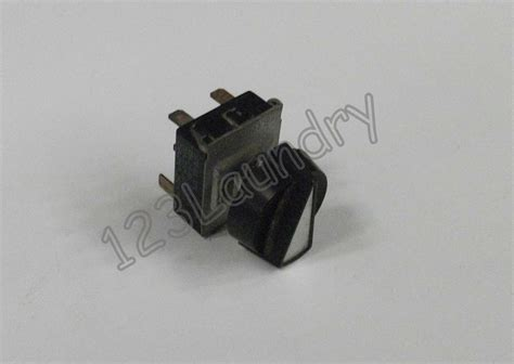 Used Temperature Selector Switch With Knob Cissell Tu9030