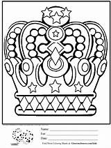 Crown Coloring King Queen Crowns Chess Template Printable Drawing Sheets Pieces Minion Princess Royal Boys David Adult Getdrawings Adults Sketchite sketch template