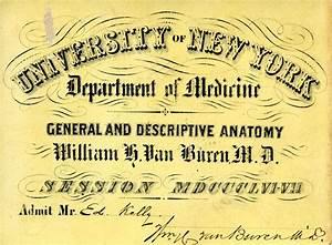 William H. Van Buren, M.D.