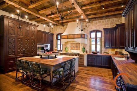 Spanish Style  Rustic  Kitchen  Austin  By Palmer Todd
