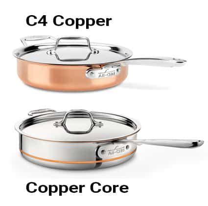 clad  copper  copper core  depth comparison prudent reviews